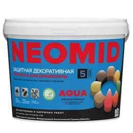 Декоративная пропитка для дерева без запаха Неомид Био Колор Аква (Neomid Bio Color Aqua)