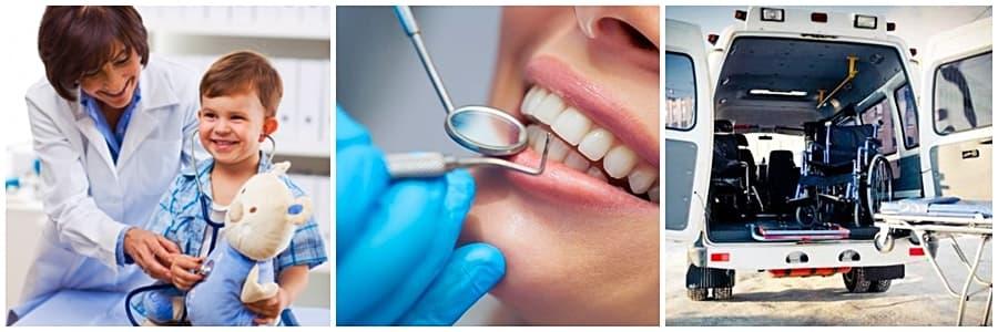 Дезинфекция в различных отраслях: медицинские учреждения, стоматология, санитарный транспорт.